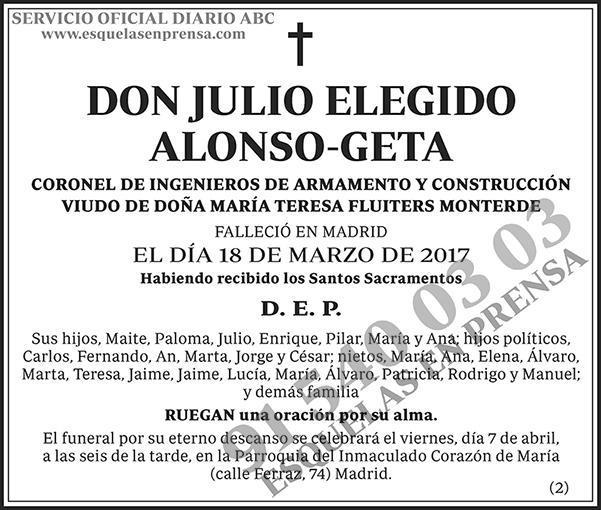 Julio Elegido Alonso-Geta